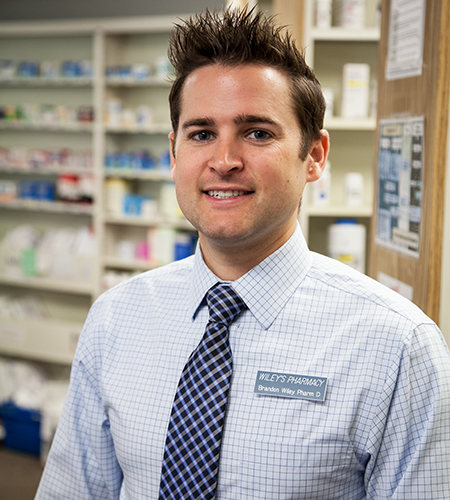 Wiley's Pharmacist Brandon J. Wiley, Pharm D.