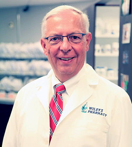Wiley's Pharmacist David W. Patterson, R.PH.