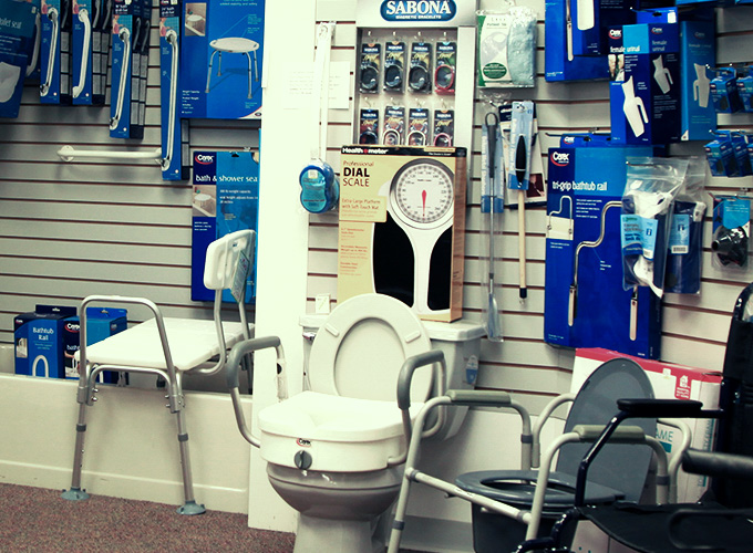 Feel safe in your home with Wiley's bathroom safety equipment