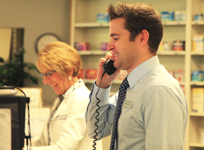 Wiley's has an on call pharmacist available 24/7 to answer questions and fill emergency prescriptions
