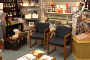Visit Wiley's Pharmacy gift shop for gifts, decorations, and more